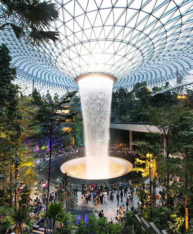 Jonite Projects - Jewel Changi Airport Singapore