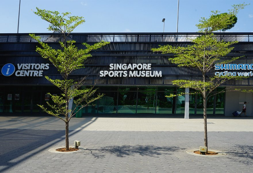 Custom Jonite reinforced stone tree grates in Singapore Sports Hub